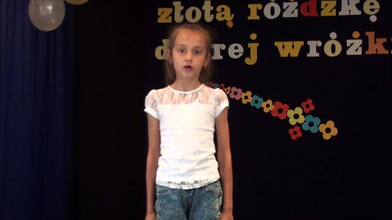 Weronika Olszańska Wiersz Juliana Tuwima Okulary Hd