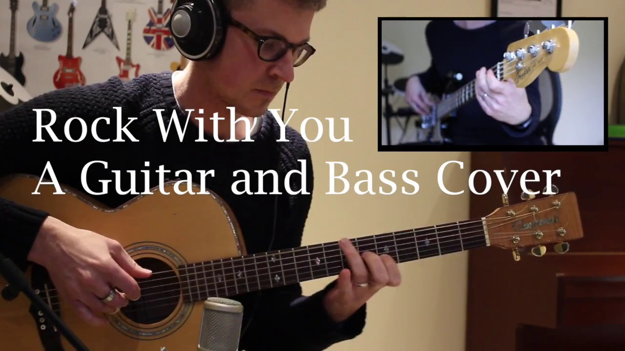 rock with you bass pdf