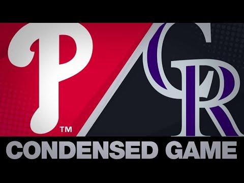 Condensed Game: PHI@COL - 4/19/19