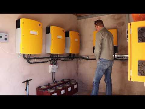 20kW off-grid 3phase solar system: Rensol Africa Solar Insta