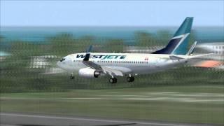 737 Action @ St. Maarten! [FS2004]