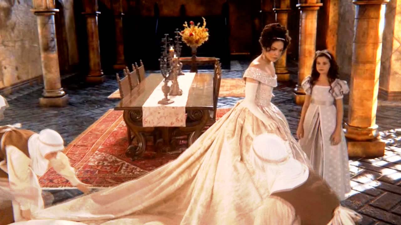 Once upon a time snow regina a new age youtube for Snow white wedding dress once upon a time