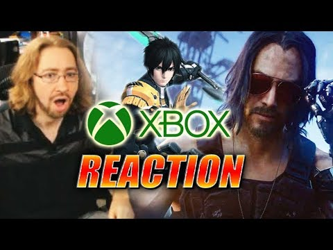 DOODS REACT: E3 2019 – Xbox Event (Full) – Cyber Keanu, PSO2 & More