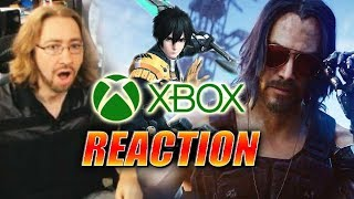 DOODS REACT: E3 2019 - Xbox Event (Full) - Cyber Keanu, PSO2 & More