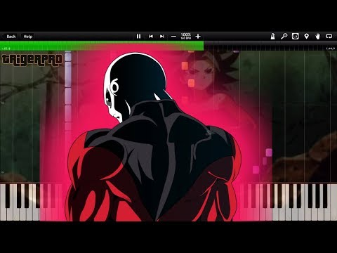 IMPROVED! Jiren's Theme - Dragon Ball Super OST / Goku vs Jiren /Belmod (Piano Tutorial) [Synthesia]