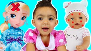 Miss Polly had a Dolly Song   Leah's Play Time Nursery Rhymes & Kids Songs
