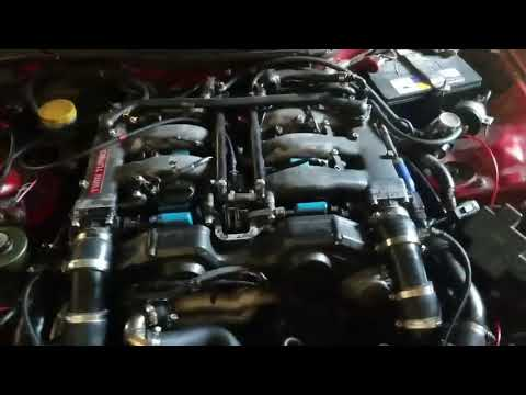 Z32 300ZX Compound Turbo Setup