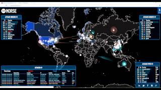 Massive Cyber Attacks On The U.S.!!!!  Norse - Live Attack Intelligence
