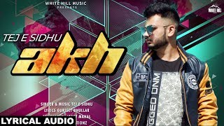 Akh Tej E Sidhu Mp3 Song Download