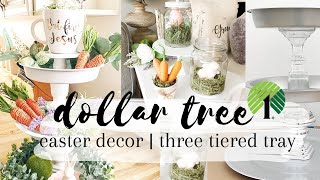 DOLLAR STORE EASTER DIY Decor | Dollar Tree | 99 cent store