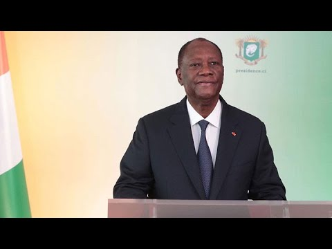 Le Président Alassane Ouattara annonce sa candidature pour l'élection présidentielle d'octobre 2020