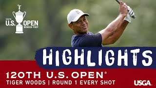 2020 U.S. Open, Round 1: Every Tiger Woods Shot