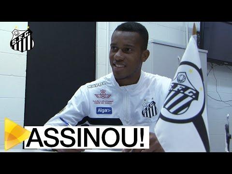 Copete assina com o Santos por quatro temporadas