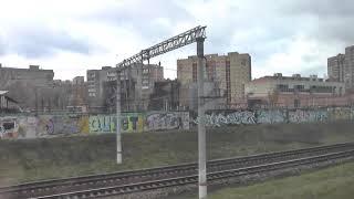 Москва из окна поезда
