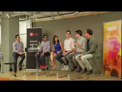 Design+ Venture panel - Featuring partners and designers from leading VC firms - Hosted by InVision