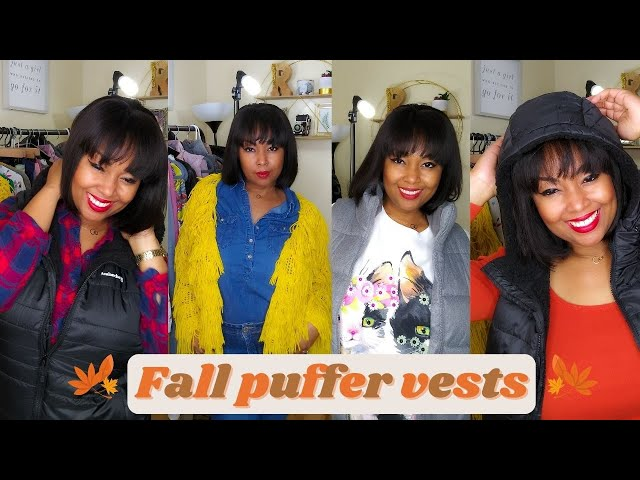 Where To Find Winter Coats Under $50 | How To Style Puffer Vests | Fall Vests | This Bahamian Gyal