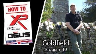 Metal Detector XP DEUS : Goldfield program and it's features [EN]