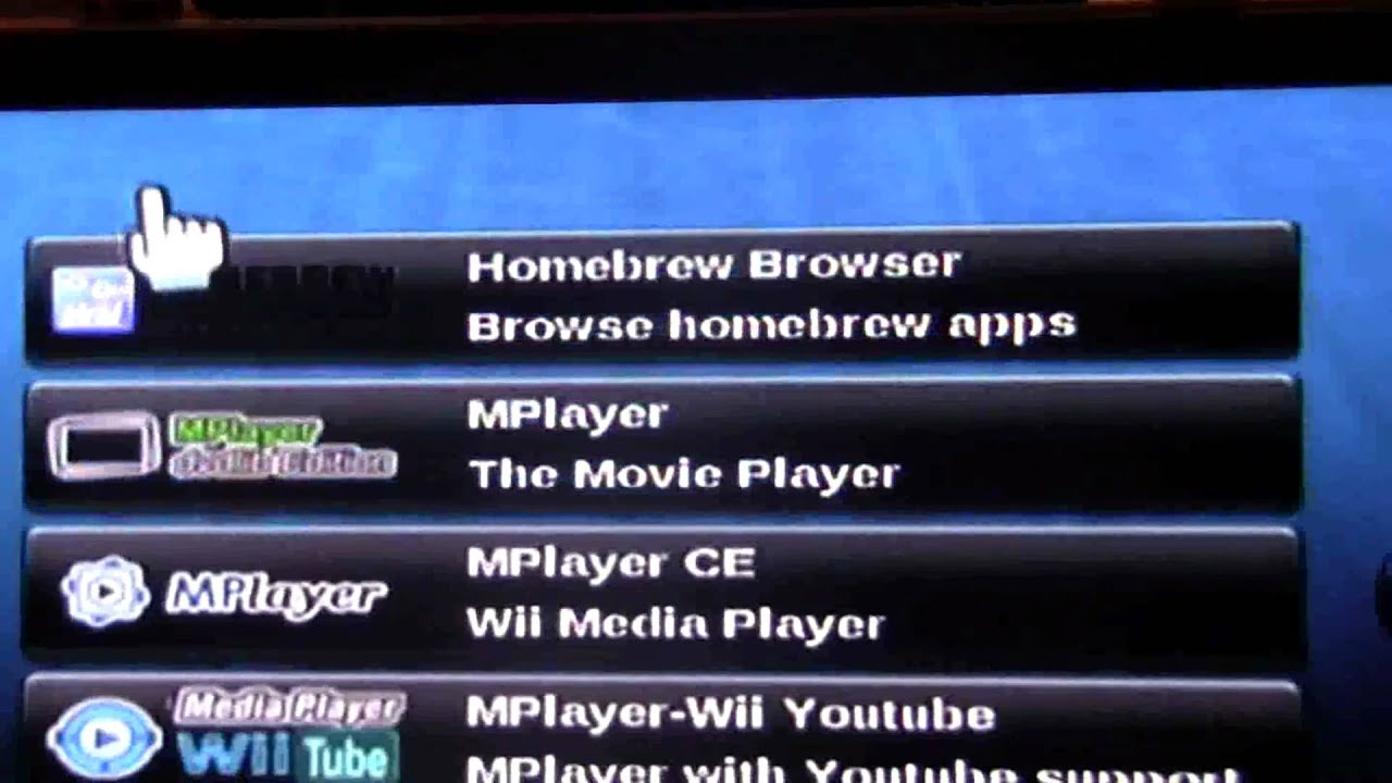 homebrew browser wii 4.3e