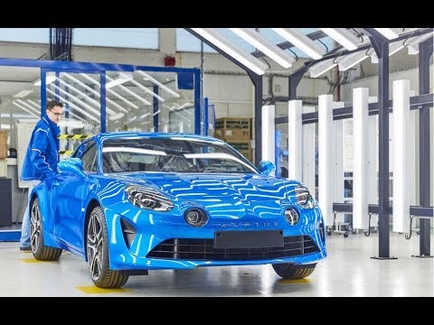 New Alpine A110 production line in Dieppe, France | Groupe Renault