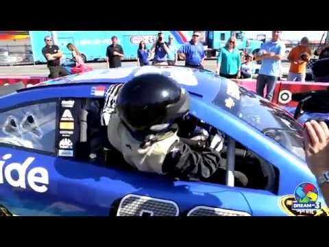 Dream On 3 & Dale Earnhardt Jr. Make Ultimate Sports Dream Come True