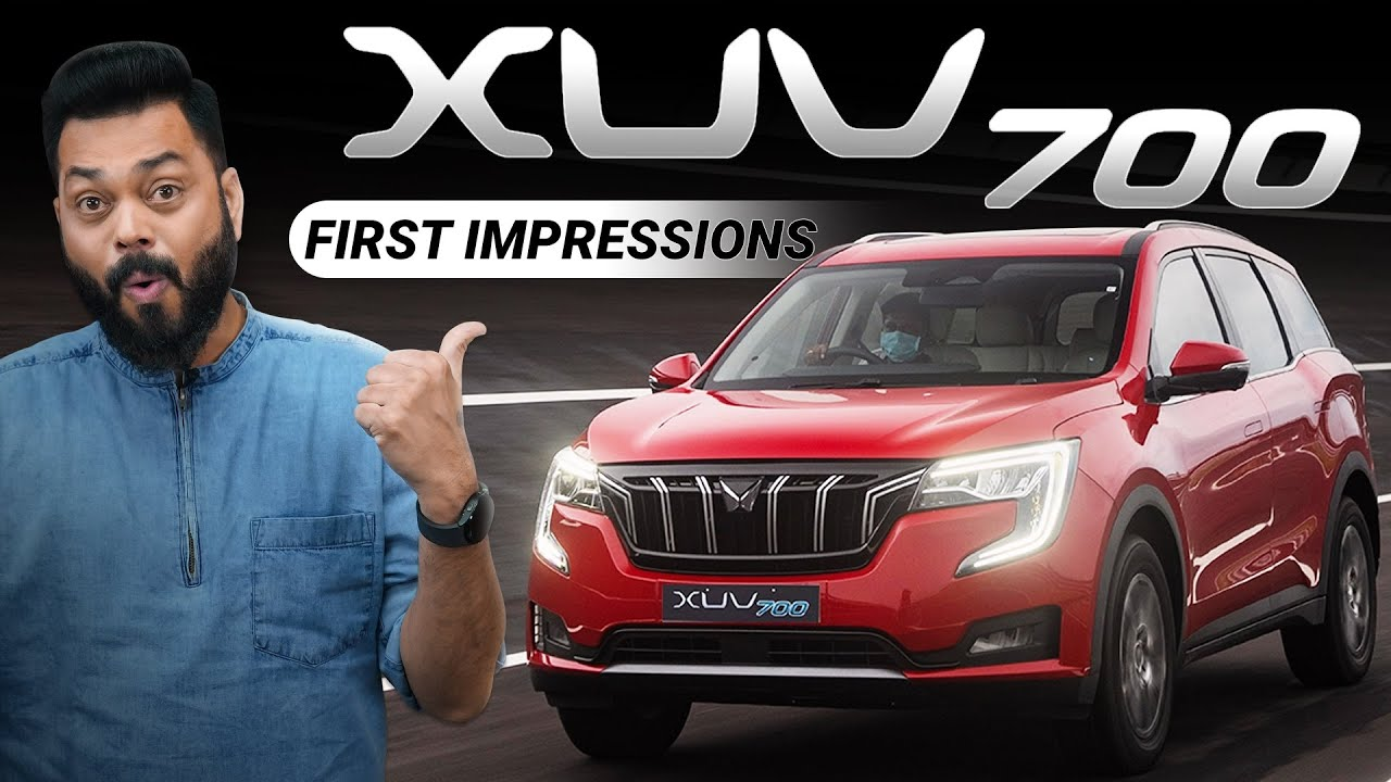 Mahindra XUV700 First Impressions ⚡ Itne Saare Features Lekin...