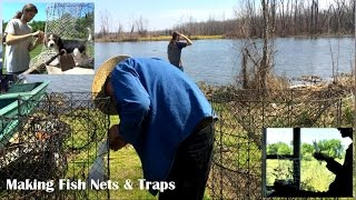 How to Make Fish Nets & Traps