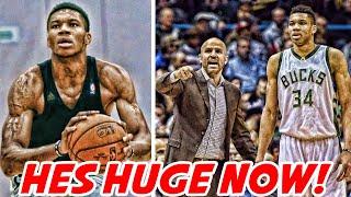 GIANNIS GOT BIGGER! | NBA NEWS
