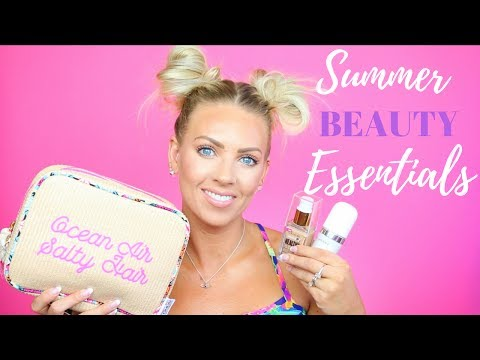 🕶 ☀️ Summer Essentials ☀️ 🕶 | BEAUTY Edition 2017