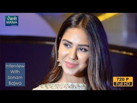 Sonam Bajwa Interview | Nikka Zaildar 2, Super Singh, Manje Bistre