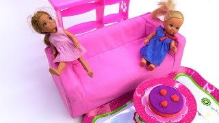 Видео для девочек - Штеффи и Челси в батутном центре