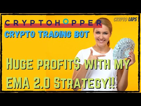 Cryptohopper Crypto Bot: See My EMA 2.0 Config For a Profitable Trading Bots