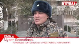 Корреспонденты газеты «Тумба» провели день в военной части №6656