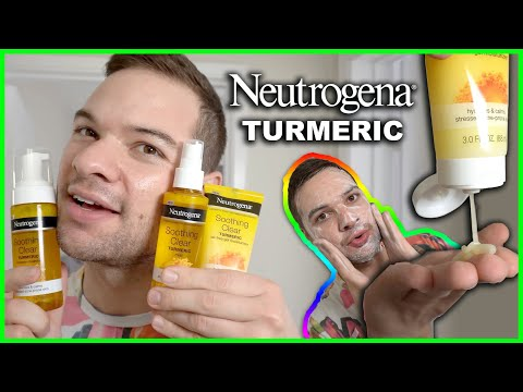 First Impressions: Neutrogena Soothing Clear Turmeric Skincare Review for Acne