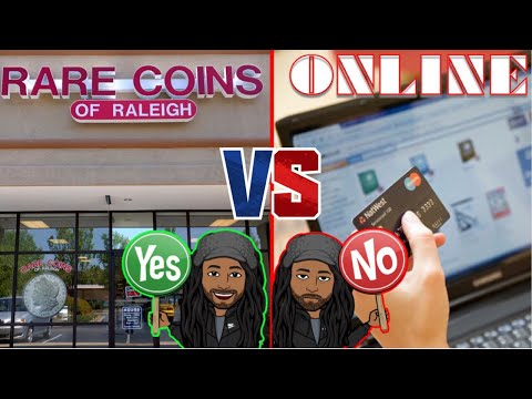 Why local coin shops is better than online bullion dealers