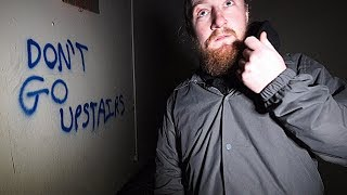 THIS ABANDONED BUILDING WAS TERRIFYING