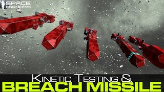 Space Engineers - Breach Missles, Kinetic Testing
