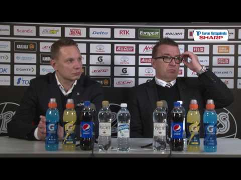 4.3.2017 TPS - Tappara Aftergame show