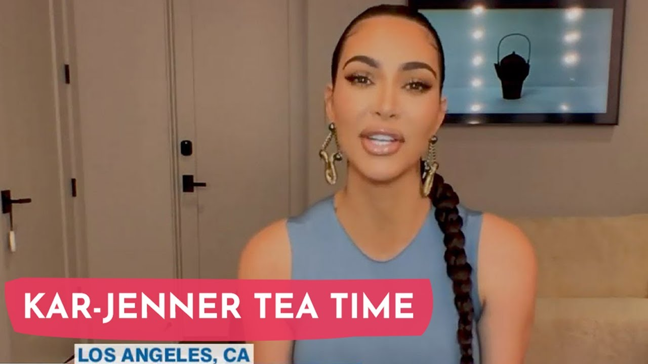 Kim Kardashian Opens Up About The STRESS Of 4 Kids And Lockdown!