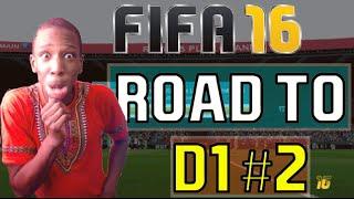 FUT 16 | ROAD TO D1 #2 | LE TITRE ET RAGE QUIT !