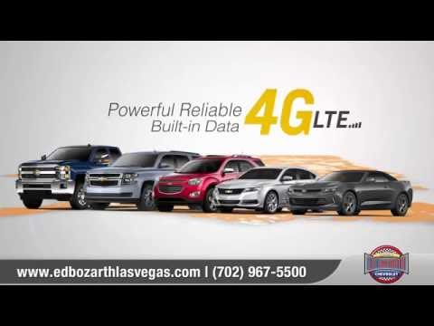 Chevrolet 4G LTE Enabled Vehicles | Ed Bozarth Nevada Chevrolet