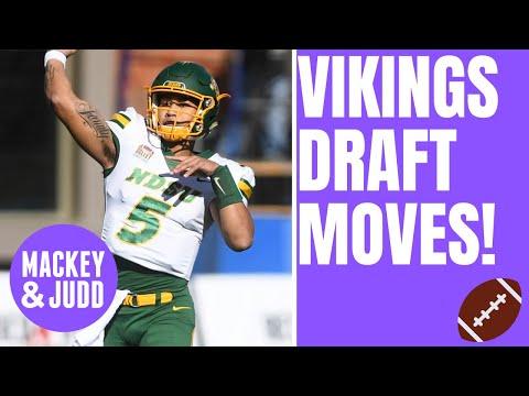 Minnesota Vikings draft scenarios: QB, OL, DE, trade back?