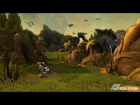 Ratchet and Clank Tools of Destruction Sound Track Tachyon Boss Fight
