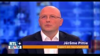 """Jérôme Pittie en direct sur RTL TVi dans l'émission """"Le salaire des top managers"""""""