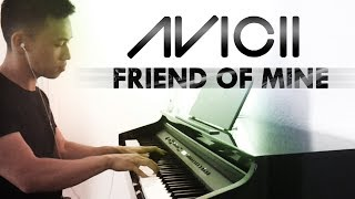Avicii (ft. Vargas & Lagola) - Friend of Mine (piano cover by Ducci)
