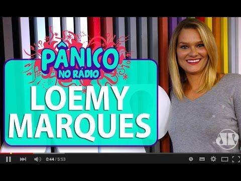Loemy Marques conta que agente a fornecia cocaína para não engordar   Pânico