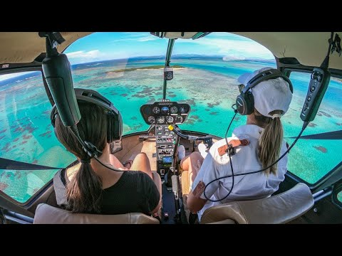 SPECTACULAR Helicopter Flight To The Most Luxurious Hotel On The Planet!