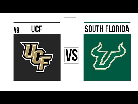 Week 13 2018 #9 UCF vs South Florida Full Game Highlights