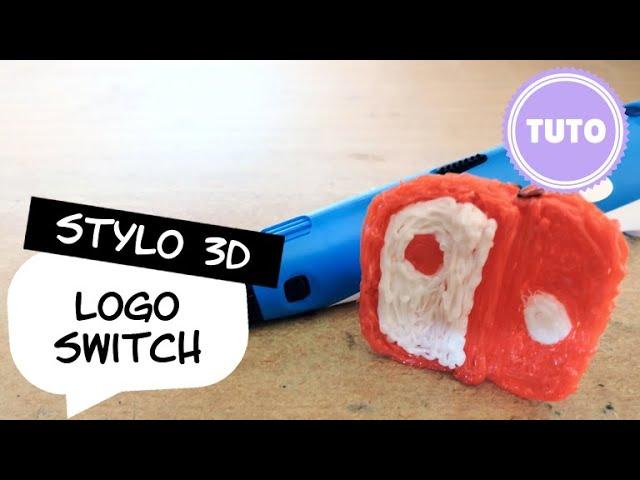DIY : 3D pen / Stylo 3D Tutoriel N°11 : Logo de la Switch