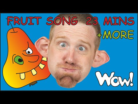 Fruit Song for Kids + MORE Songs Compilation for Kids from Steve and Maggie | English for Children