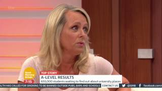 A Level Results - What To Do If You Didn't Get The Grades | Good Morning Britain
